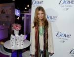 Annalynne McCord enjoying  the Sundance #DoveColor Care Salon