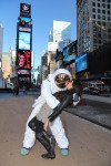 AXE Moon Man Sighting In New York City