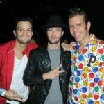 Mark Ballas (DWTS), Travis Garland and Perez Hilton